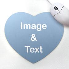 心形照片鼠标垫