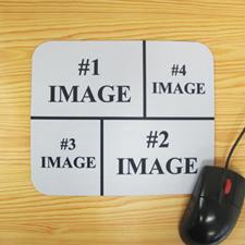 4图拼盘鼠标垫 黑色
