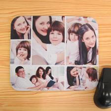 6图拼盘鼠标垫  白色