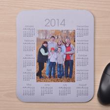 2016 照片带日历鼠标垫 白色