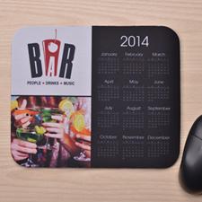 2图拼盘 带日历鼠标垫 黑色 2016