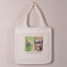 个性环保购物袋 3图和文字定制