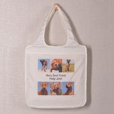 个性环保购物袋 6图和文字定制