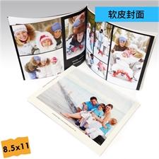 8.5x11寸精装软皮相册定制照片书