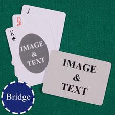 双面定制  个性扑克牌(横向桥牌尺寸)
