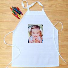个性DIY围裙-单图定制照片和文字(儿童款)