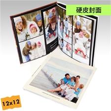 12x12寸精装硬皮相册定制照片书