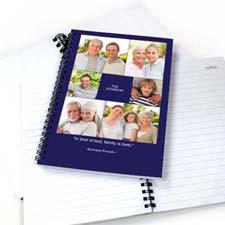 蓝色背景6图拼盘 笔记本