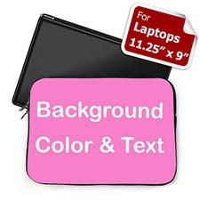 个性笔记本内胆包 小号 亮粉色背景