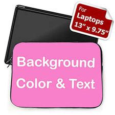 个性笔记本内胆包 中号 亮粉色背景