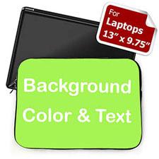 个性笔记本内胆包 中号 亮绿色背景
