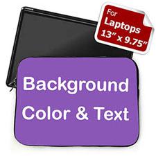 个性笔记本内胆包 中号 紫色背景