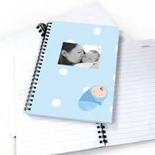 圆点男婴 笔记本