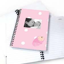圆点女婴 笔记本