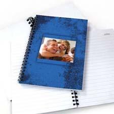 现代蓝色纹理 笔记本