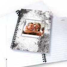 现代白色纹理 笔记本