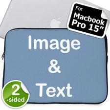 个性MacBook Pro内胆包 15寸(双面定制)