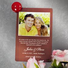 定制婚礼磁胶照片贴