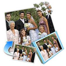婚礼主题 10x8英寸照片拼图(横式)