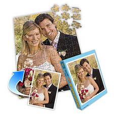 婚礼照片主题 10x8英寸照片拼图(竖式)