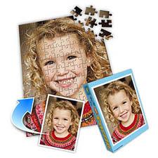 家庭礼物主题 10x8英寸照片拼图(竖式)