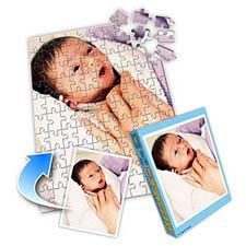 宝宝主题 10x8英寸照片拼图(竖式)