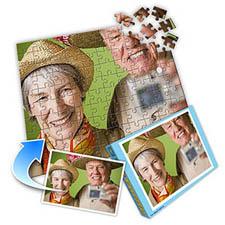 退休主题 10x8英寸照片拼图(横式)