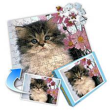可爱宠物 10x8英寸照片拼图(横式)