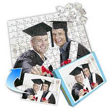毕业主题 10x8英寸照片拼图(横式)