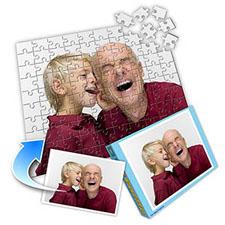送老人 10x8英寸照片拼图(竖式)