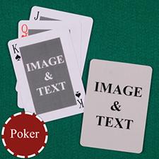 双面定制扑克牌(正面方形)