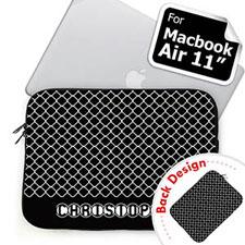 定制黑色波点苹果笔记本Air11