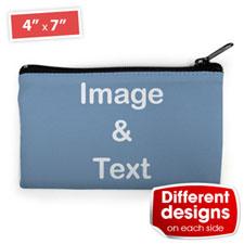 个性DIY化妆包–双面订制不同照片和文字