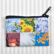 个性DIY零钱包–6图双面订制相同照片和文字