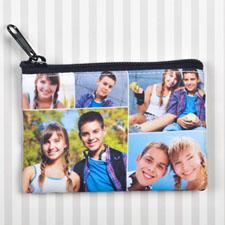 个性DIY零钱包–5图双面订制相同照片和文字