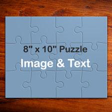 儿童礼物 10x8英寸个性照片拼图