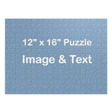 16×12 英寸 个性拼图 横版照片拼图