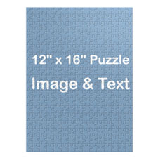 16×12英寸个性照片拼图 竖版