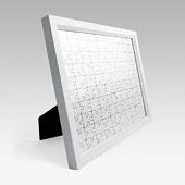 拼图相框10X8英寸 立式 白色