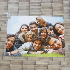 19.75x28 英寸 个性拼图 定制照片和文字 1000块 (横式)