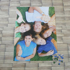 19.75x28 英寸 个性拼图 定制照片和文字 1000块 (竖式)