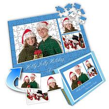 圣诞节主题 10×8英寸个性拼盘拼图 3图拼贴