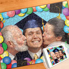 毕业纪念主题 16×12英寸照片拼图