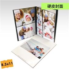 8.5x11寸精装硬皮相册定制照片书