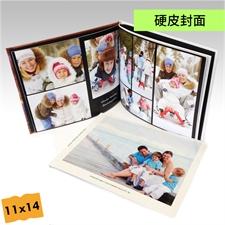 11x14寸精装硬皮相册定制照片书