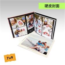7x9寸精装硬皮相册定制照片书