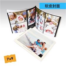 7x9精装软皮相册定制照片书