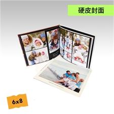 6x8寸精装硬皮相册定制照片书