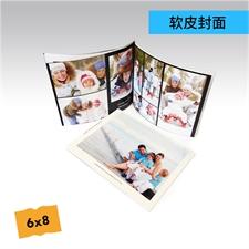 6x8精装软皮相册定制照片书
