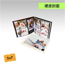 5x7寸精装硬皮相册个性照片书